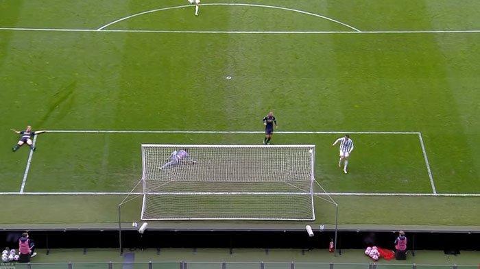 Ronaldo gagal cetak gol ke gawang genoa