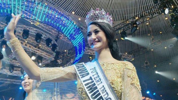 Cantiknya Ayu Maulida, Perwakilan Indonesia di Miss Universe 2021, Pakai Kostum Ala Komodo