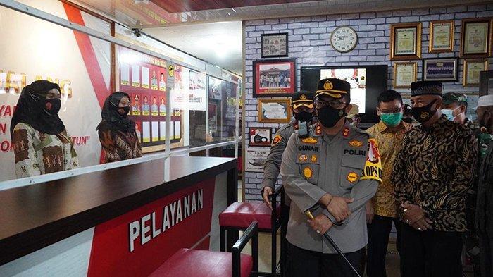 Jangan Takut Berurusan ke Polisi,Biar Publik Nyaman Ini yang Dilakukan Kapolsek Tualang Siak