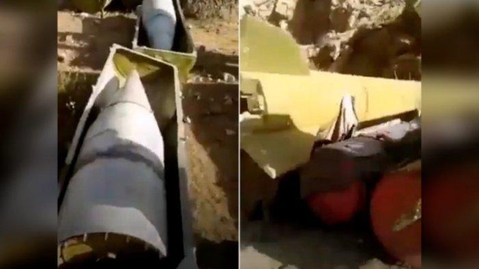 Rudal balistik Peninggalan Uni Soviet di Afghanistan.