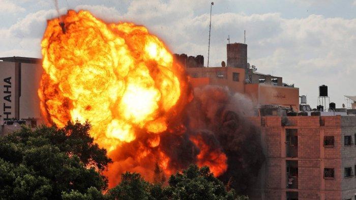 Serangan Udara Israel Hantam Sebuah Rumah, Tewaskan 8 Anak 2 Wanita dari Keluarga yang Sama
