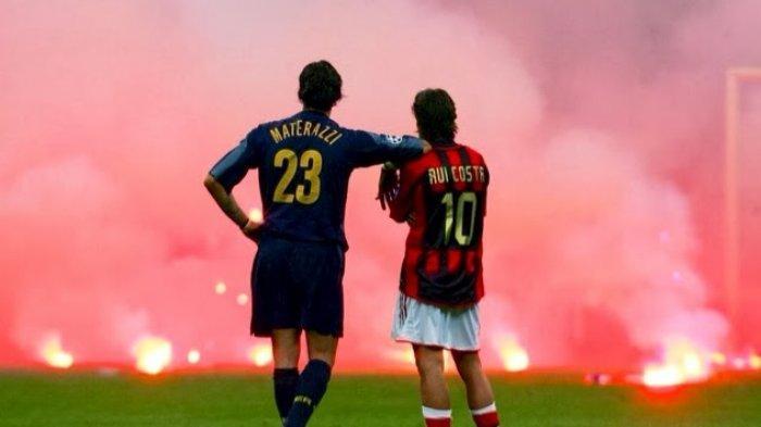 AC Milan VS Inter Milan: VIDEO Cuplikan Derby Milan Terpanas, Champions 2005 Berakhir Tragis