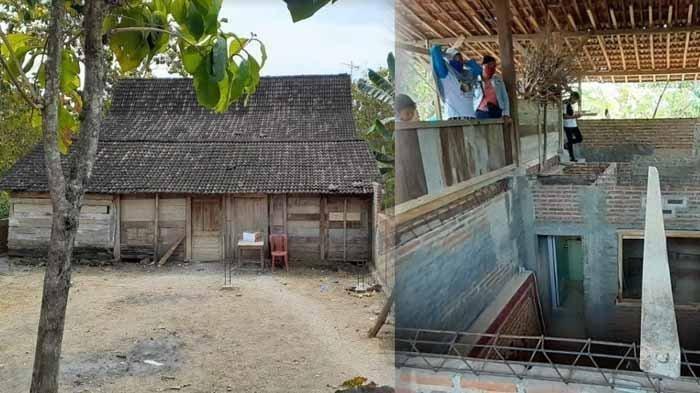 Warga Percaya Karena Dibantu Jin, Misteri Rumah Bergeser di Ngawi Hingga Terangkat 130 Cm