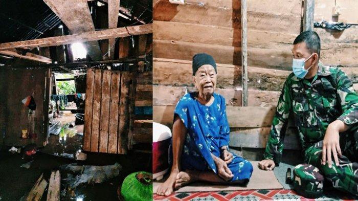 Rumah Nenek Samnah Kerap Jadi Korban Banjir, Dandim Serahkan Sertifikat Tanah Segera Bisa Direhab