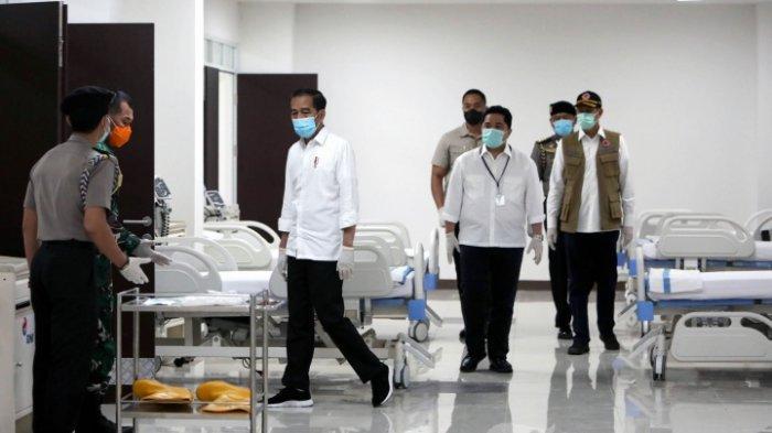 Presiden Jokowi : Masyarakat Indonesia Harus Tahu, 207 Negara juga Terdampak Virus Corona