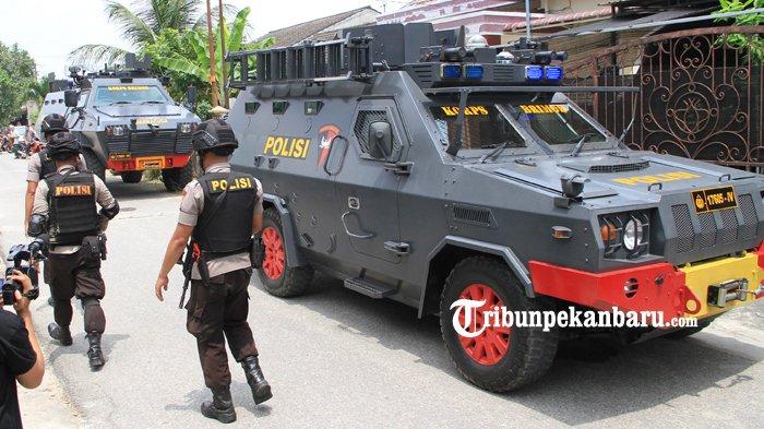 5 Teroris yang Diamankan di Riau, Masih Diinterogasi di Brimobda Riau