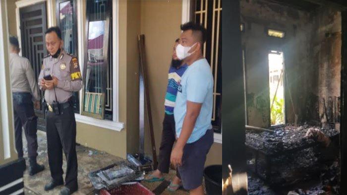 Warga Tampan Buru-buru Pulang Saat Ditelpon Tetangga, Ternyata Api Sedang Membara di Rumahnya