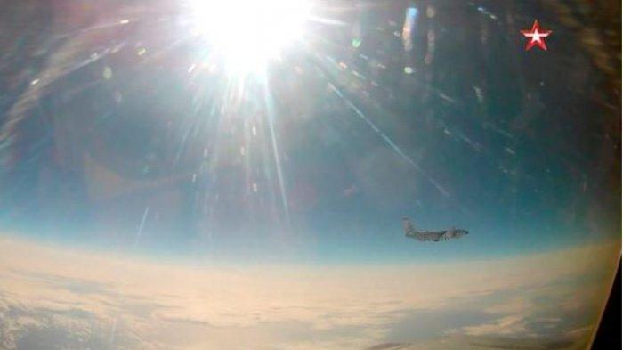 Lagi, Amerika Ketahuan Mata-matai Rusia, Jet Tempur Rusia Cegat Pesawat Pengintai Strategis AS