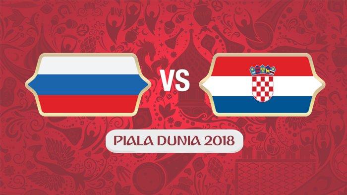 Prediksi Rusia Vs Kroasia Piala Dunia 2018, Laga Terakhir Perempat Final