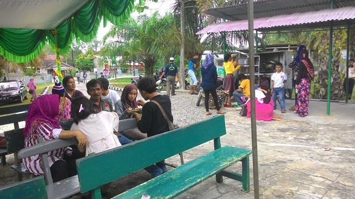 Warga Binaan di Rutan Rengat Silaturahmi dengan Keluarga di Hari Raya Idul Fitri dengan Video Call