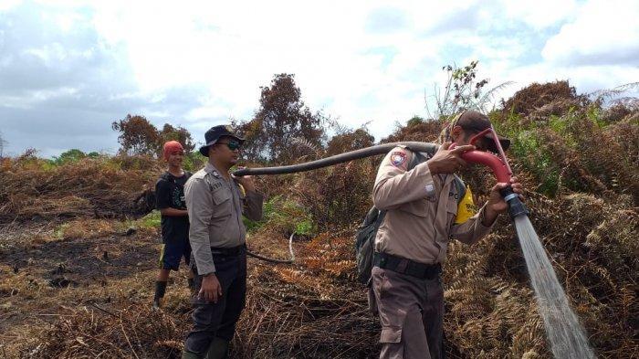 Belum Satu Bulan,  Sudah 78,53 Hektare Lahan di Riau Terbakar