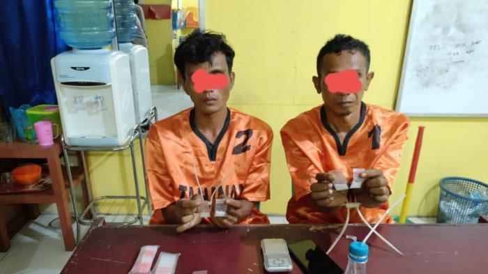Polisi Gedor Rumah di Kuansing,Dapati 3 Pria dan Puluhan Bungkus Sabu,1 Pelaku Kabur Langsung Diburu