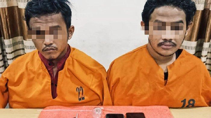 Taruh 12 Paket Sabu di Bawah Meja,Pengedar di Inhil Tak Berkutik Ditemukan Polisi Saat Penggeledehan