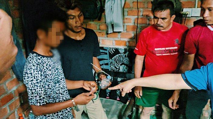 Polisi Temukan 10 Paket Kecil Sabu-sabu dan Pil Ekstasi dari Pemuda di Inhil, Disimpan di Mana?