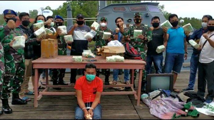 KRONOLOGI Penyelundupan 20 Kg Sabu yang Digagalkan Lanal Dumai dan Ditres Narkoba Polda Riau