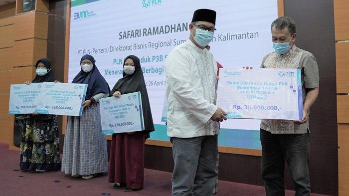 Safari Ramadhan 1442 Hijriah, PLN UIP3BS Salurkan Santunan Senilai Rp 1,7 Miliar