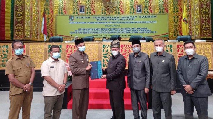 Sah, Perda Penanganan Covid-19 Disahkan Lagi, DPRD Pekanbaru: Tetap Mengedepankan Humanis dan Tegas