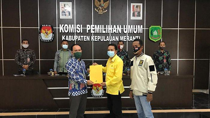 Sah, Said Hasyim - Abdul Rauf Akhirnya Ditetapkan KPU untuk Ikut Pilkada Meranti, Nomor Urut 4
