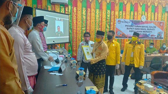 Proses Verifikasi Penetapan Said Hasyim-Abdul Rauf sebagai Paslon Pilkada Meranti Masih Berjalan