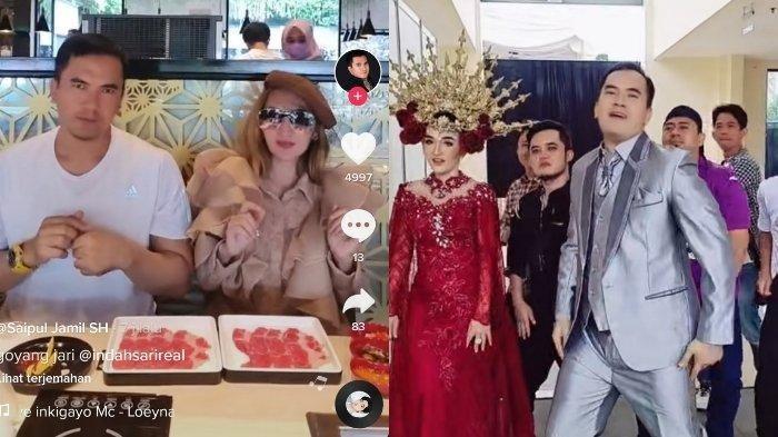 Tak lagi Ngartis, Saipul Jamil Alih Profesi Jadi Tiktokers, Satu Video Gaet Ratusan Ribu Followers