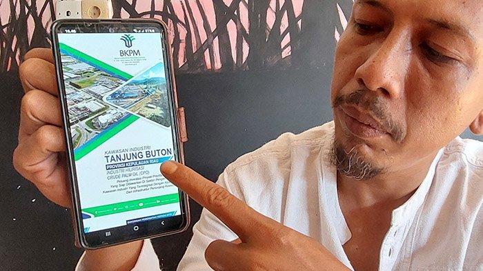 Lapor Pak Menteri! Alamat KITB Salah di Website Resmi Kementerian Investasi,Warga Siak Minta Revisi