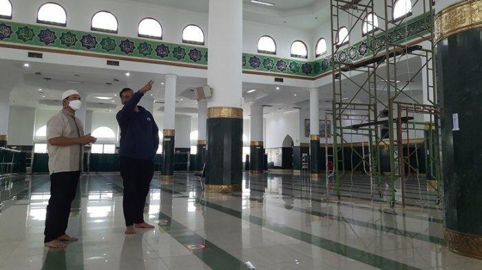 Salat Tarawih Berjemaah di Masjid Agung An-Nur, Jemaah Wajib Bawa Perlengkapan Salat Sendiri