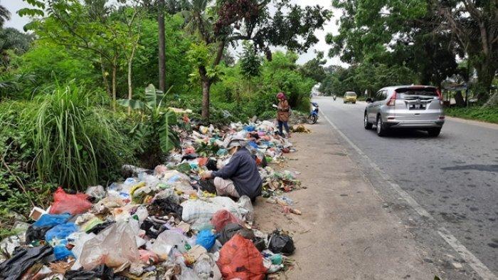 Tim KLHK Sudah Turun, Polda Riau Belum Tetapkan Siapa Tersangka Kasus Sampah di Pekanbaru