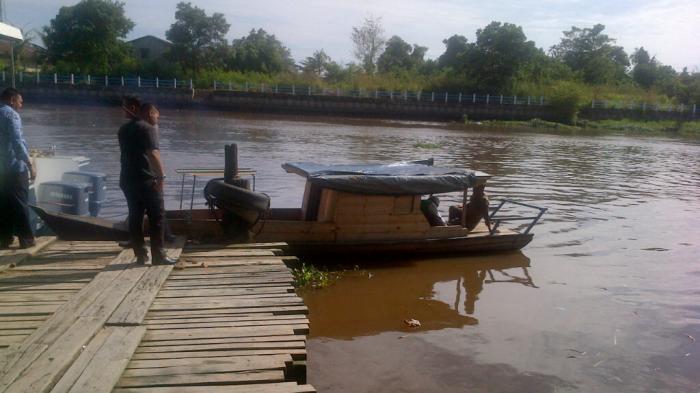 KRONOLOGI Pengusaha Tahu di Perawang Jatuh ke Sungai Siak: Tenggelam Senin, Jasad Ditemukan Rabu