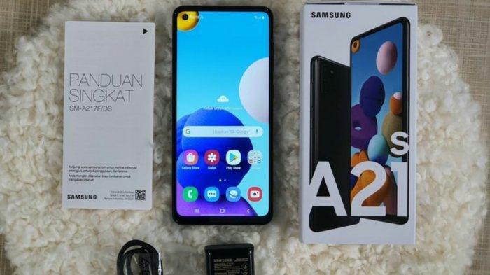 Resmi Dijual di Indonesia, Ini Harga dan Spesifikasi Samsung Galaxy A21s, Ada Bonus-Bonus Ini