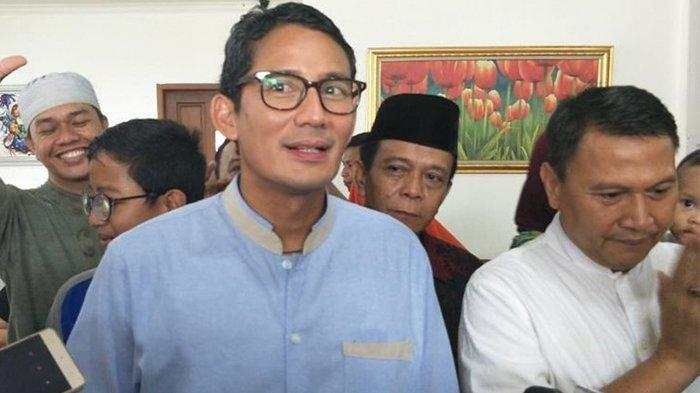 Sandiaga Uno Besok Rabu 1 Mei 2019 Berkunjung ke Padang, Ini Agenda Lengkapnya