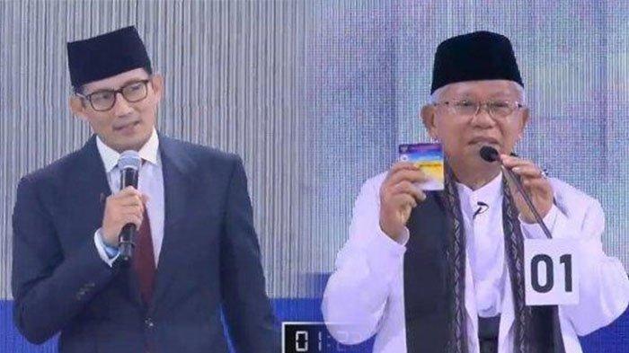 Jokowi-Maruf Pakai Program Kartu, Prabowo-Sandi akan Pakai KTP Jadi Kartu Tunggal untuk Akses Semua