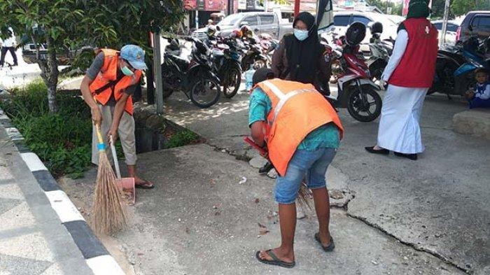 Ogah Pakai Masker Lebih Suka Disanksi, Sudah Tahu Pelalawan Zona Merah Covid-19 Masih Bandel