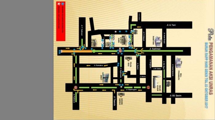 Hari Ini Ada Demontrasi di Jalan Sudirman, Peta Jalur Alternatif Ini Bisa Jadi Panduan
