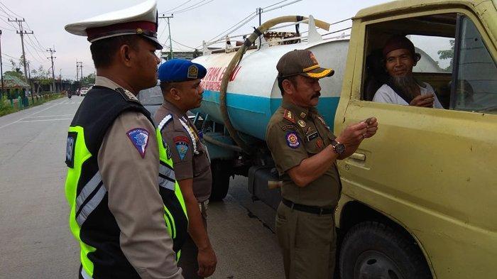 Dumai Operasi Yustisi, Petugas Gabungan Razia di Jalan Sampai Periksa Wisma dan Kos-kosan