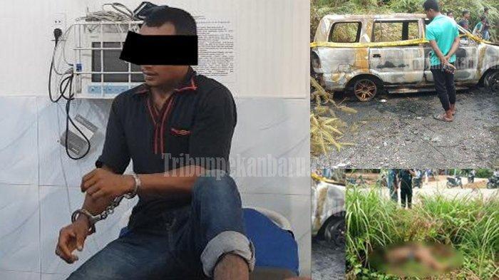 Pembunuhan Sadis di Riau, Pelaku Masukan Mayat Korban Seorang Pengusaha Muda ke Bagasi Mobil
