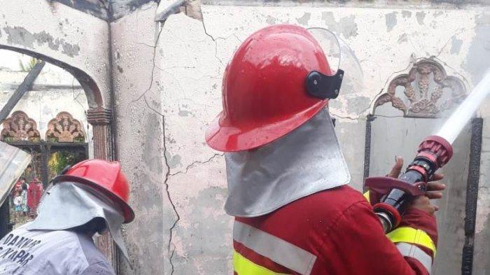 Satu Unit Rumah Hangus Terbakar di Desa Sungai Pagar Kampar, Ini Penyebab Kebakaran