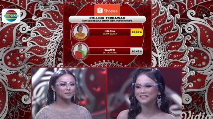Sawitri Jakarta Tersenggol di TOP 16 LIDA 2021 Grup 1, Iqhbal Sumbar Raih Polling Tertinggi