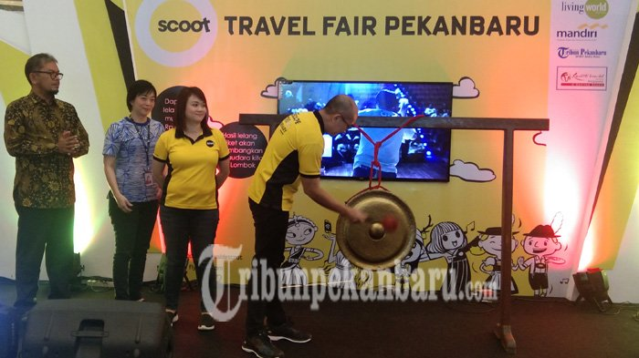 Scoot Travel Fair Pekanbaru Targetkan Transaksi Capai Rp 1 Milliar