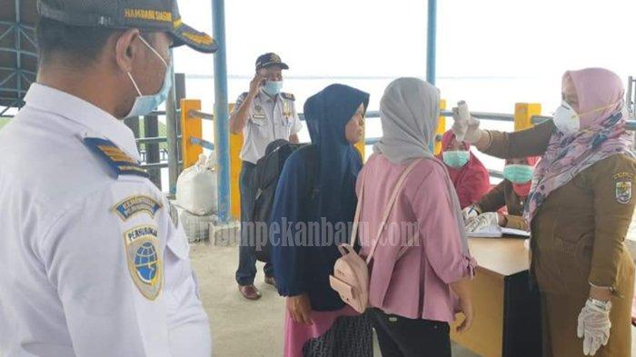 86 WNI dari Malaysia dan Singapura yang Masuk dari Kuala Kampar ke Pelalawan Riau Dipantau