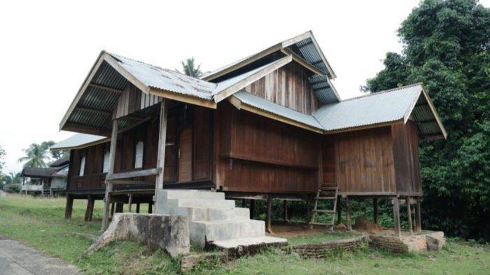 Sejarah Rumah Godang di Desa Koto Sentajo Kampar Riau