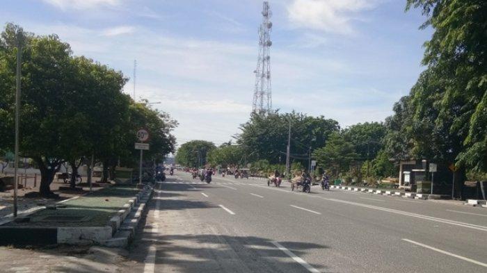 Hari Ini Efektif Penerapan PSBB, Jalanan Bengkalis Masih Ramai
