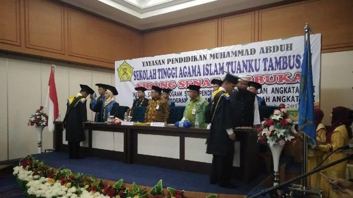 Civitas STAI Tuanku Tambusai, Riau.