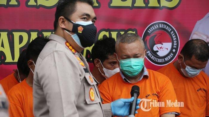 Kasus Mantan Sekda Nias Utara Berbuntut Panjang, Jajaran Narkoba Polrestabes Medan Diperiksa Propam