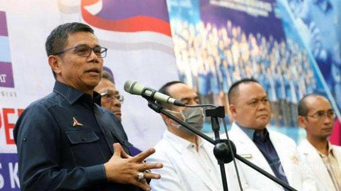 Ada KLB Demokrat di Sumatera Utara, Hinca Pandjaitan Tegas Minta Polisi Membubarkannya