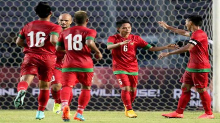 Hasil Kualifikasi Piala Asia, Indonesia Kalahkan Taiwan, Evan Dimas Cetak Gol ke Gawang China Taipei