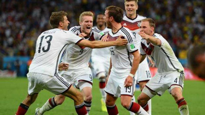 Jerman Berhasil Kalahkan Swedia 2:1 Walau Tertinggal 1:0 di Babak Pertama