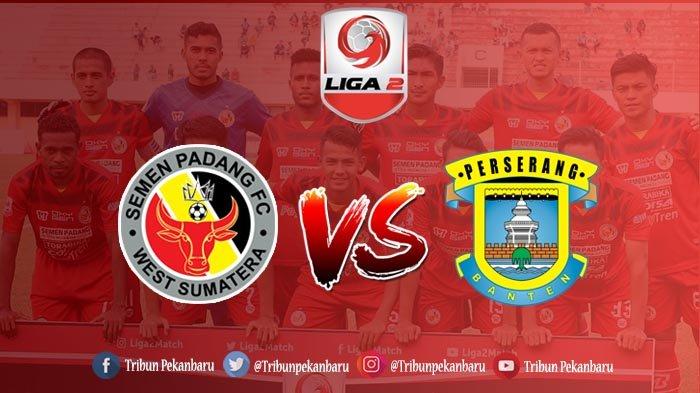 Semen Padang vs Perserang Liga 2 2018 Kick Off 15.30, Kabau Sirah Waspadai Pemain Senior Perserang