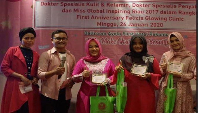 Felicia Glowing Clinic Gelar Seminar Kecantikan 'We Make Your Skin Beautiful