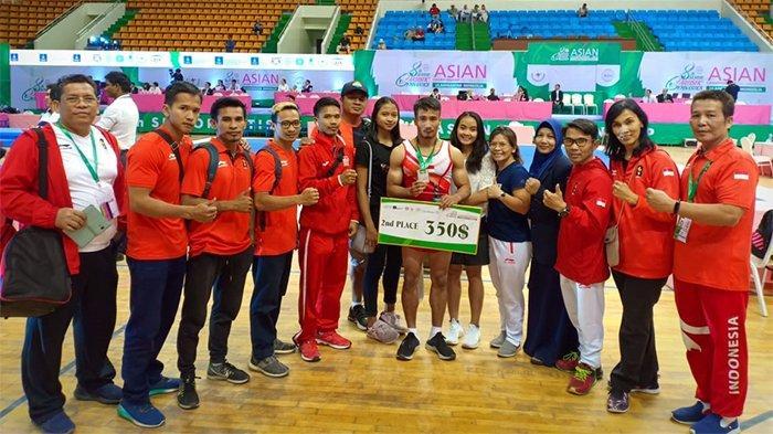 Atlet Riau M Aprizal Raih Perak pada Kejuaraan Asia di Mongolia
