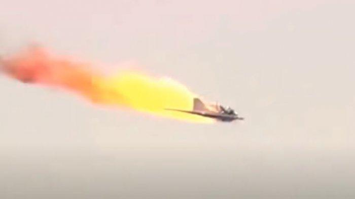 Gawat! Dua Drone Tempur Amerika Serikat Terbakar di Udara, Diduga Ditembak Jatuh Militan Pro Turki